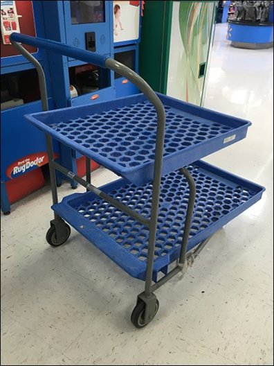 Twin Tier Shopping Trolley 2