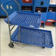 Twin Tier Shopping Trolley 3