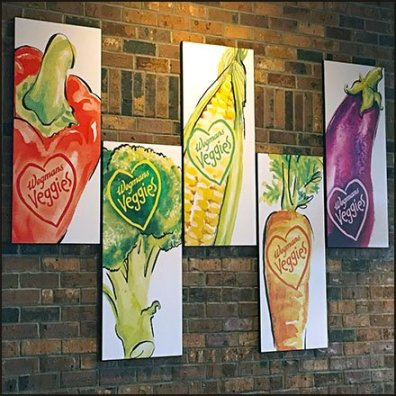 Wegmans In-Store Veggies Art Masterpieces Feature1