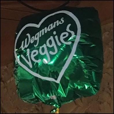 Wegmans Veggies Inflatable Feature