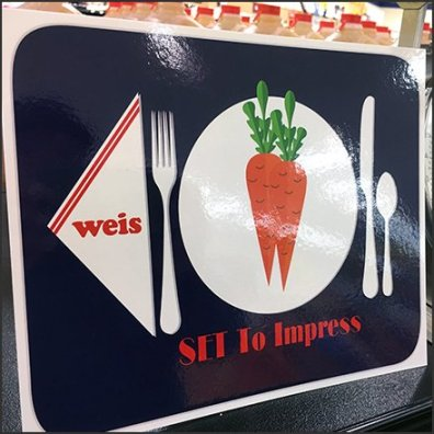 Weis Set To Impress Shelf-Edge Sign Feature copy