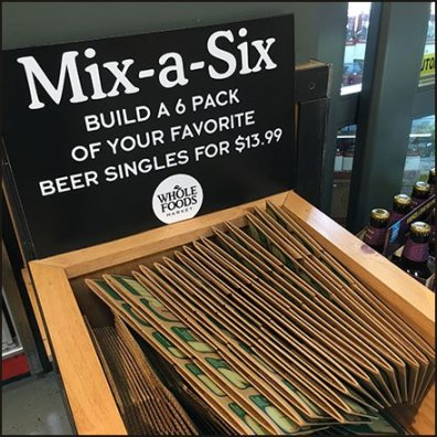 Whole Foods Mix a Six Pack Craft Beer Square2