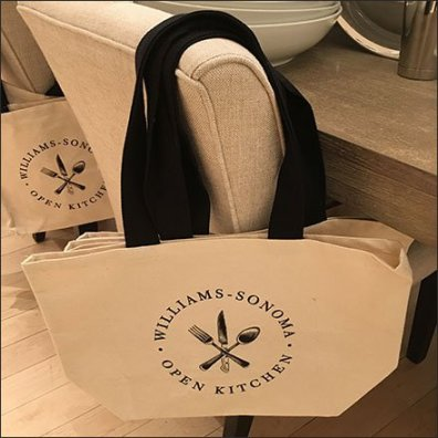 Williams Sonoma Branded Shopping Bag
