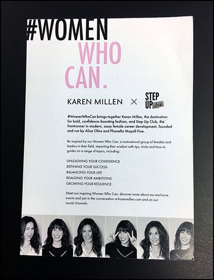 Women Who Can Hashtag At Karen Millen