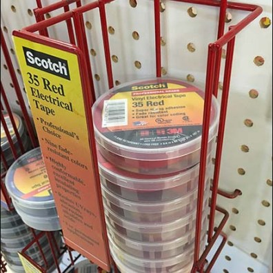 3M Electrical Supplies Pegboard Rack 3