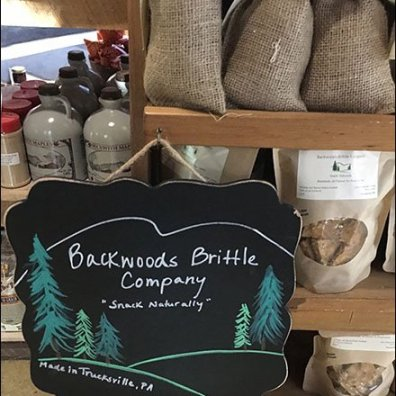 Backwoods Brittle Branding At Farm Store