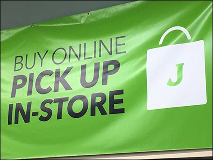 In-Store Pick-Up Locator For Your Online Purchase