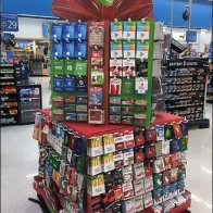 Christmas Gift Card Tiered Tower at Target