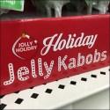 Christmas Jelly Kabob Holiday Lollipops Display