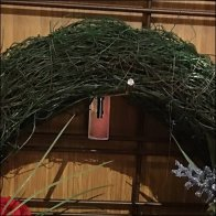 Christmas Wreath Mobile Slatwire Tower Square3