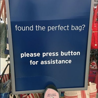 Perfect Purse V.I.P. Call Button Sales Strategy