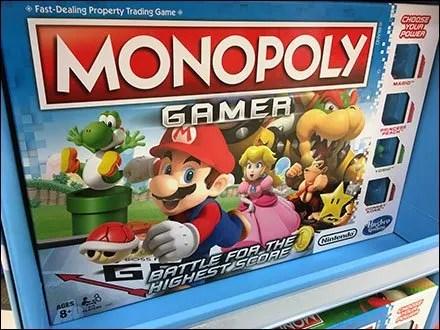 Hasbro Gaming Corrugated Merchandiser
