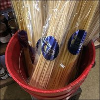 Wood Bucket Merchandising Maestri Pasta