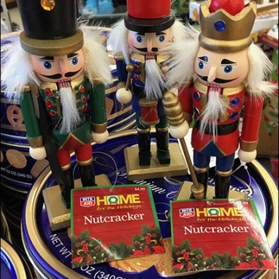 Nutcracker Assortment Christmas Merchandising