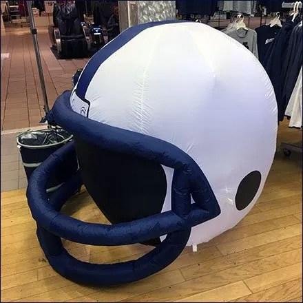 Penn State Football Helmet Inflatable Feature