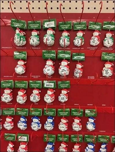 Personalized Christmas Ornament J-Hooks