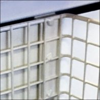Rectangular Wire Basket Slot Mounts