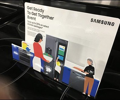 Samsung Stovetop Appliance Diorama