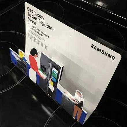 Samsung Stovetop Appliance Diorama