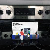 Samsung Stovetop Appliance Promotion