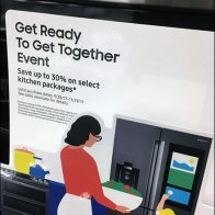 Samsung Stovetop Appliance Promotion