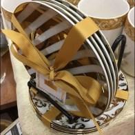 Strawberry Street Ribbon Bow Tied Christmas Tableware 3