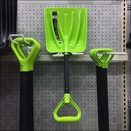 Target Shovel Size Assortment Merchandising Feature