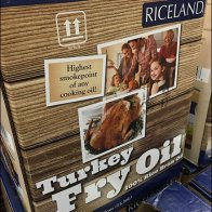 Turkey Fry Oil Thanksgiving Three-fer Special