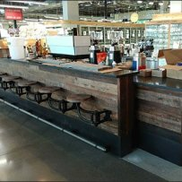 Whole Foods Swing-Aside Stool Concept