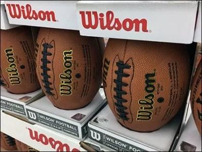 NFL Football Lineup Merchandising