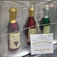 Wine Bottle Christmas Ornaments by Wondershop