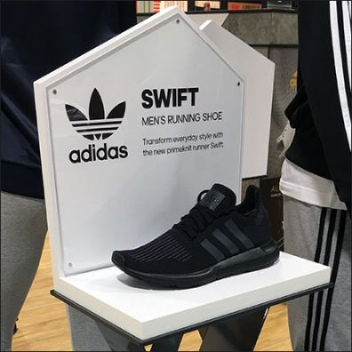 Adidas Swift Pedestal Shoe Display Feature2
