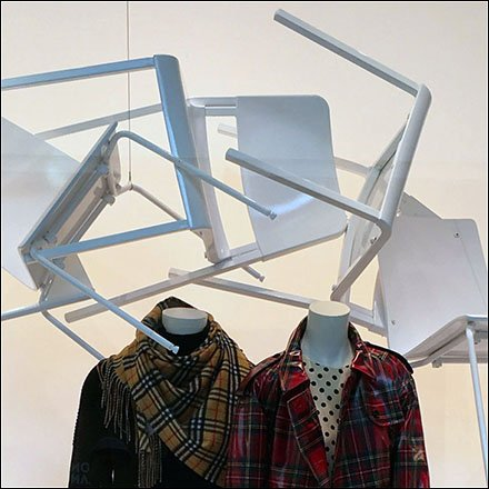 Burberry Winter Plaid Chair Arch Window Square1