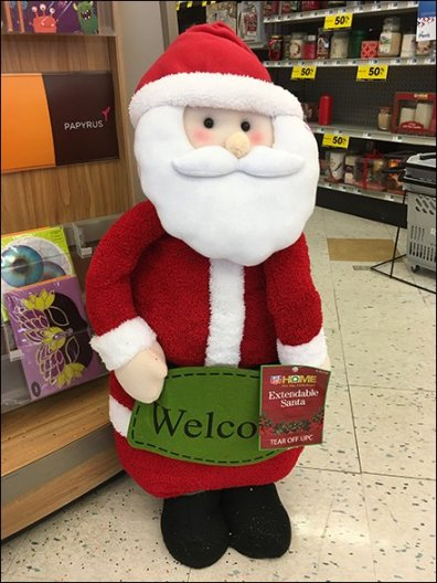 Christmas Plush Welcome To Grocery