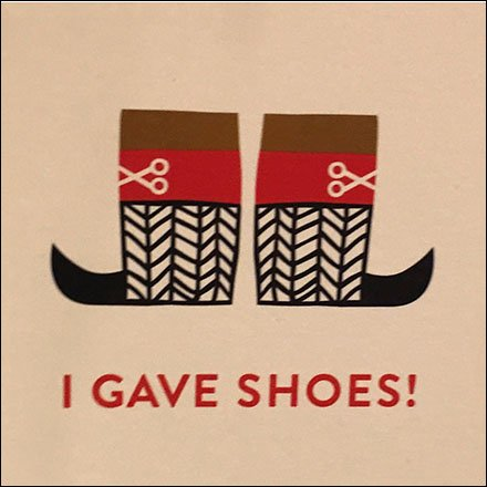 This Retail Charity and Charitable Retail index page aggregates links to all posts and photos of retail merchandising, display, and outfitting - Give Shoes That Fit Nordstrom Charity Tree