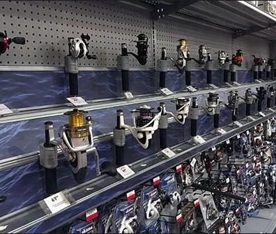 Inline Gondola Fishing Reel Display