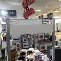Mug Table Stand Tops Glassware Display