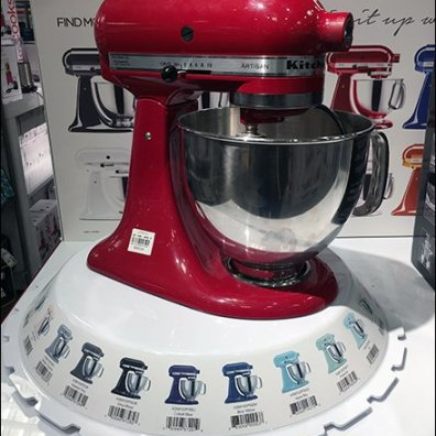 Endless Kitchenaid Possibilities In Store Display