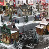 Christmas Village Landscapes Add Motion