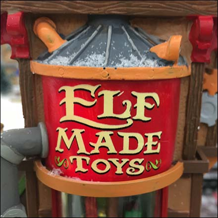 Elf Made Toys Christmas Village Video