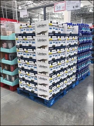 Lubriderm Later Gator Pallet Merchandising