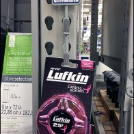 Luscious Pink Lufkin Measuring Tape Merchandiser