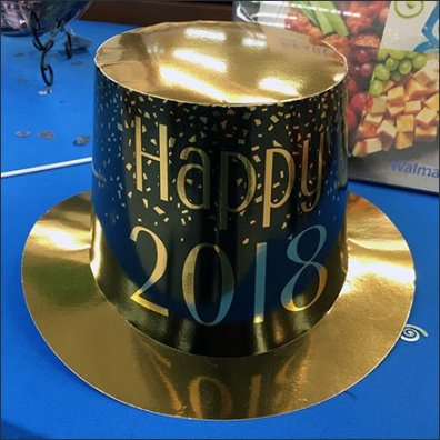 New Year's Eve Party Favors As Retail Props