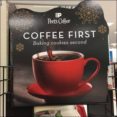 Peets Coffee Sidekick Rack Feature