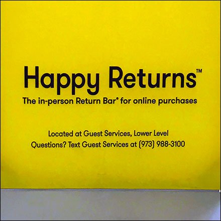 The Best of Retail Return Policies Reporting - Returns Happily Accepted At Short Hills Mall