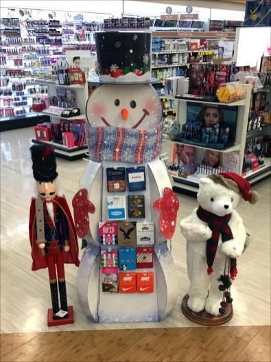 Snowman Display Gift Card Assortment