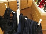 Freestanding Ball-End Rack for Shopping Bags