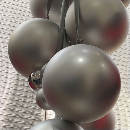 Ball Display Store Fixtures - Silver Christmas Ball Ornaments At Macys