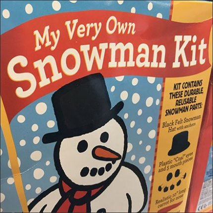 Snowman Construction Kit At JoAnns Square3