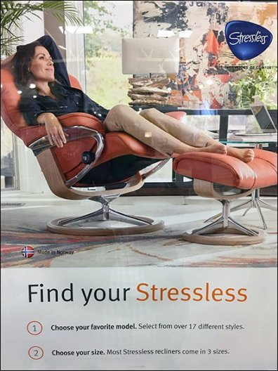 Stressless Find Your Lifestyle Imagining